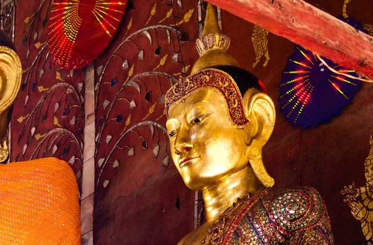Myanmar Kengtung Temple