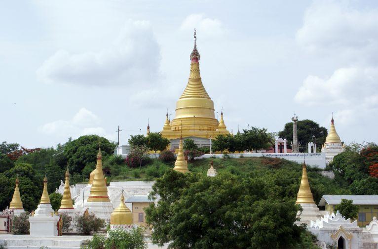 Myanmar Mandalay Sagaing hill