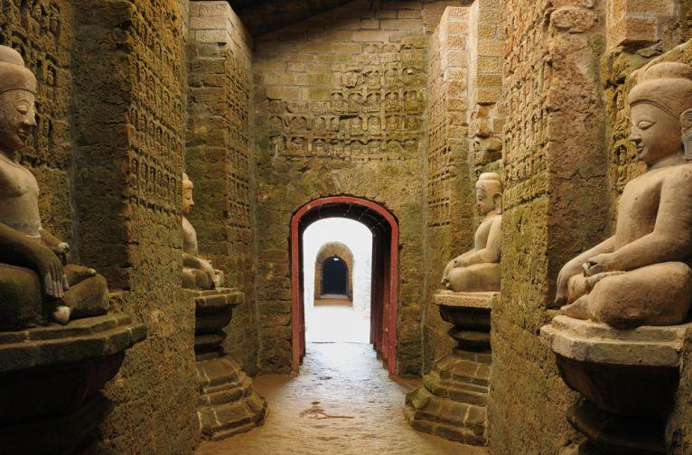 Myanmar Mrauk U Archaeological Site