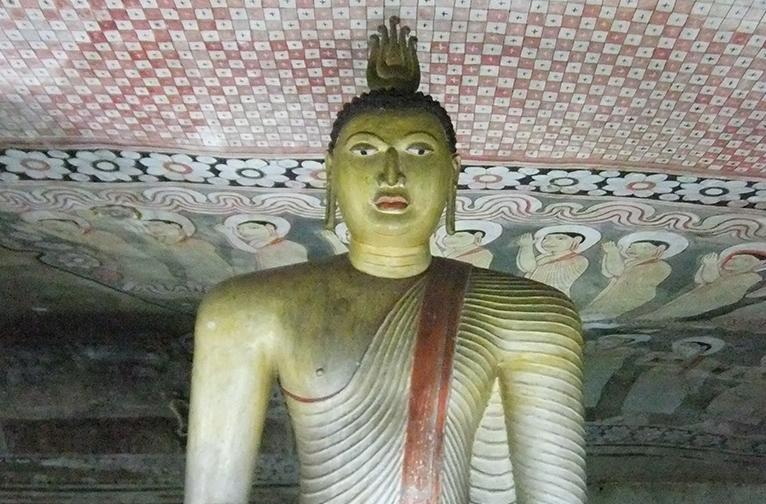 The Dambulla cave temple